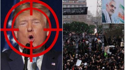 """80 de milioane de dolari, pe """"capul"""" lui Donald Trump. Anunțul făcut la înmormântarea lui Soleimani"""