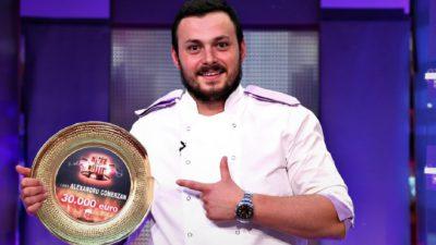"""Ce face Alexandru Comerzan cu marele premiu de la Chefi la Cuțite. Pe ce vrea să """"spargă"""" sute de dolari"""