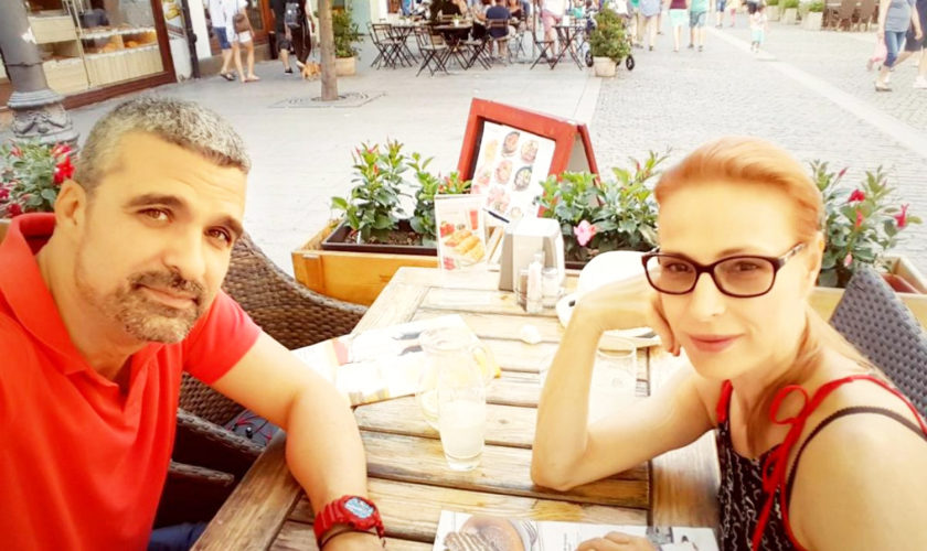 Cum arătau Aurelian Temișan și Monica Davidescu atunci când s-au cunoscut. Au făcut anunțul după 25 de ani de relație