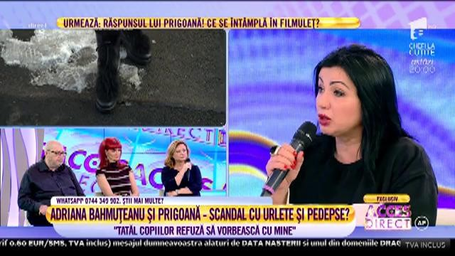 Adriana Bahmuțeanu și-a dat demisia de la Antena 1. Acces Direct va rămâne în pragul noului an fără fosta soție a lui Prigoană