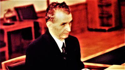 Cum arăta Nicolae Ceaușescu în tinerețe. Cine erau părinții dictatorului