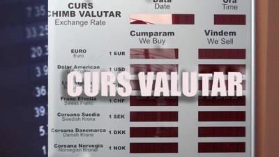 Curs valutar BNR vineri, 24 ianuarie. Cât plătim pentru un euro, dolar și lira sterlină la casele de schimb