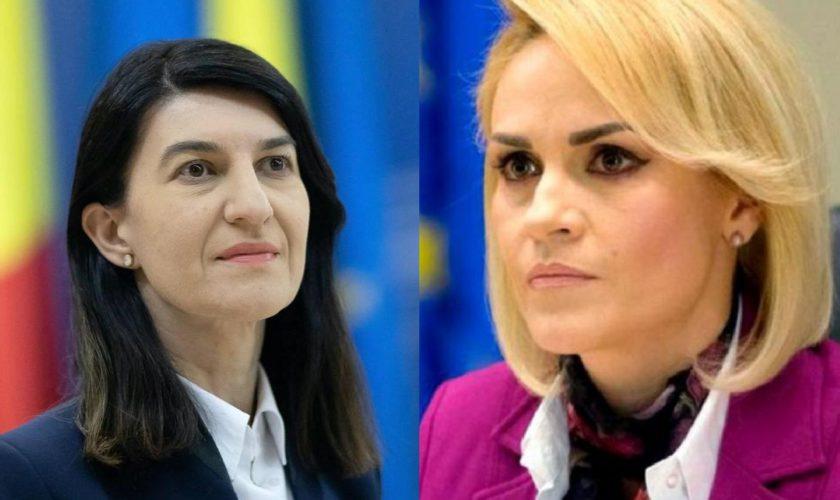 Ministrul Muncii, Violeta Alexandru, atac la Gabriela Firea. Ce spune despre primarul Capitalei