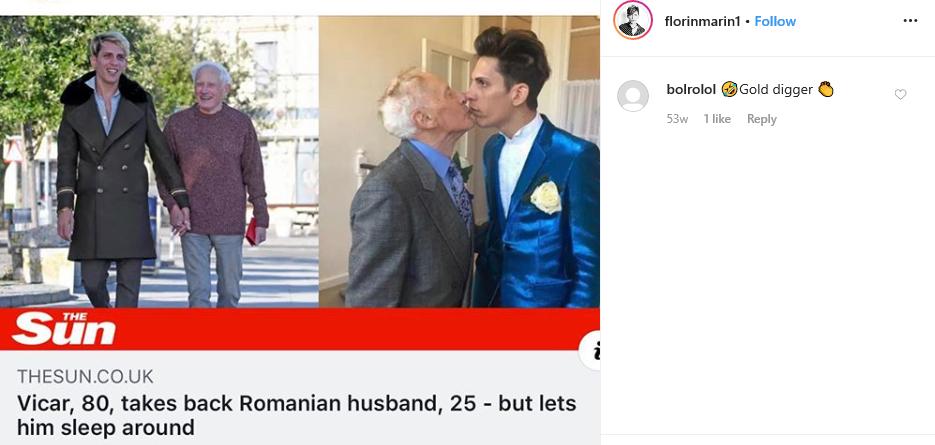 Cum arată azi Florin Marin, românul care s-a căsătorit cu un preot cu 50 de ani mai în vârstă