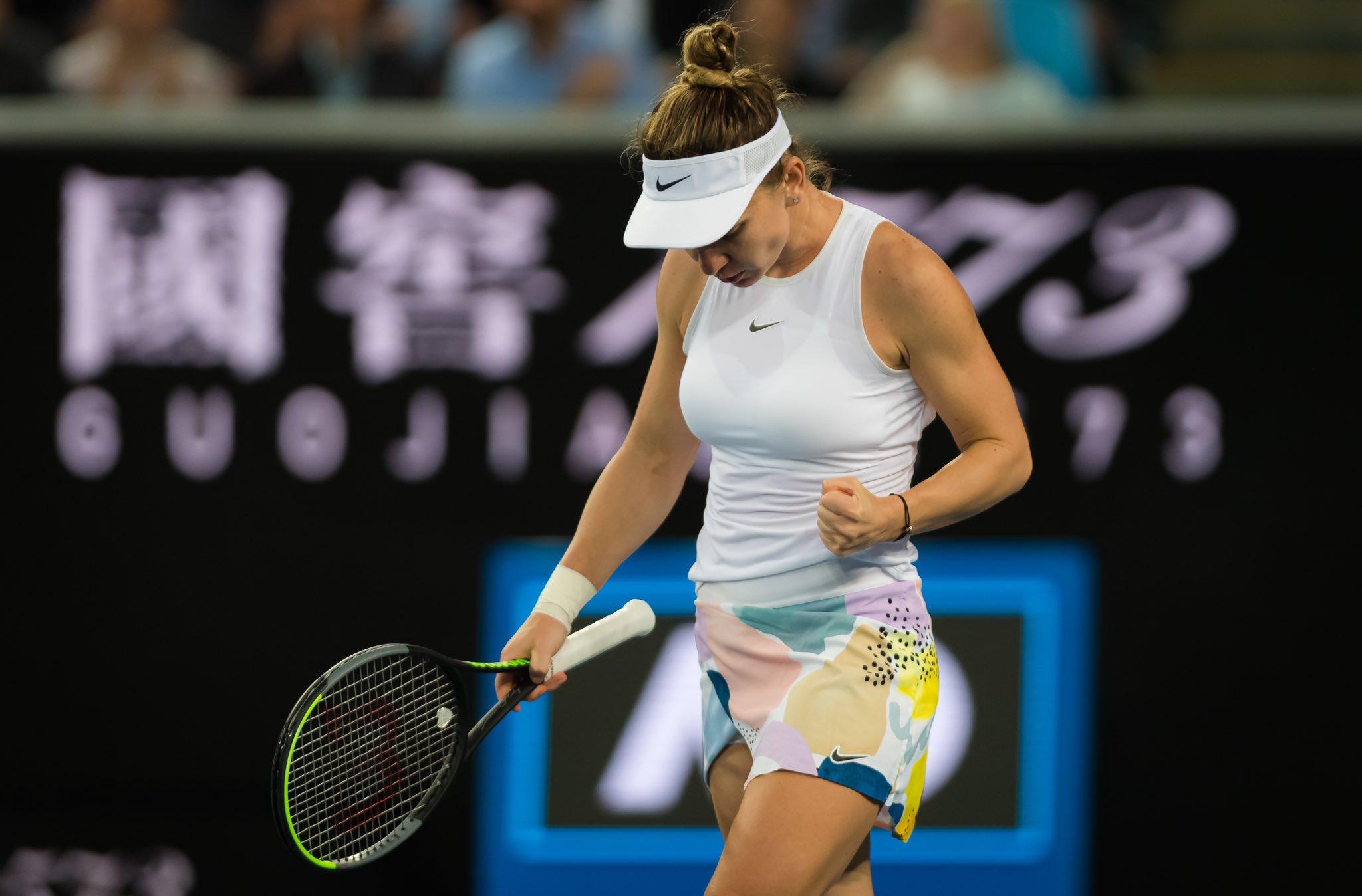 Simona Halep - Harriet Dart Live Video în turul 2 la Australian Open