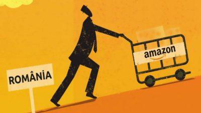 Amazon vine și în România? Retailerul online a ajuns la granița cu țara noastră