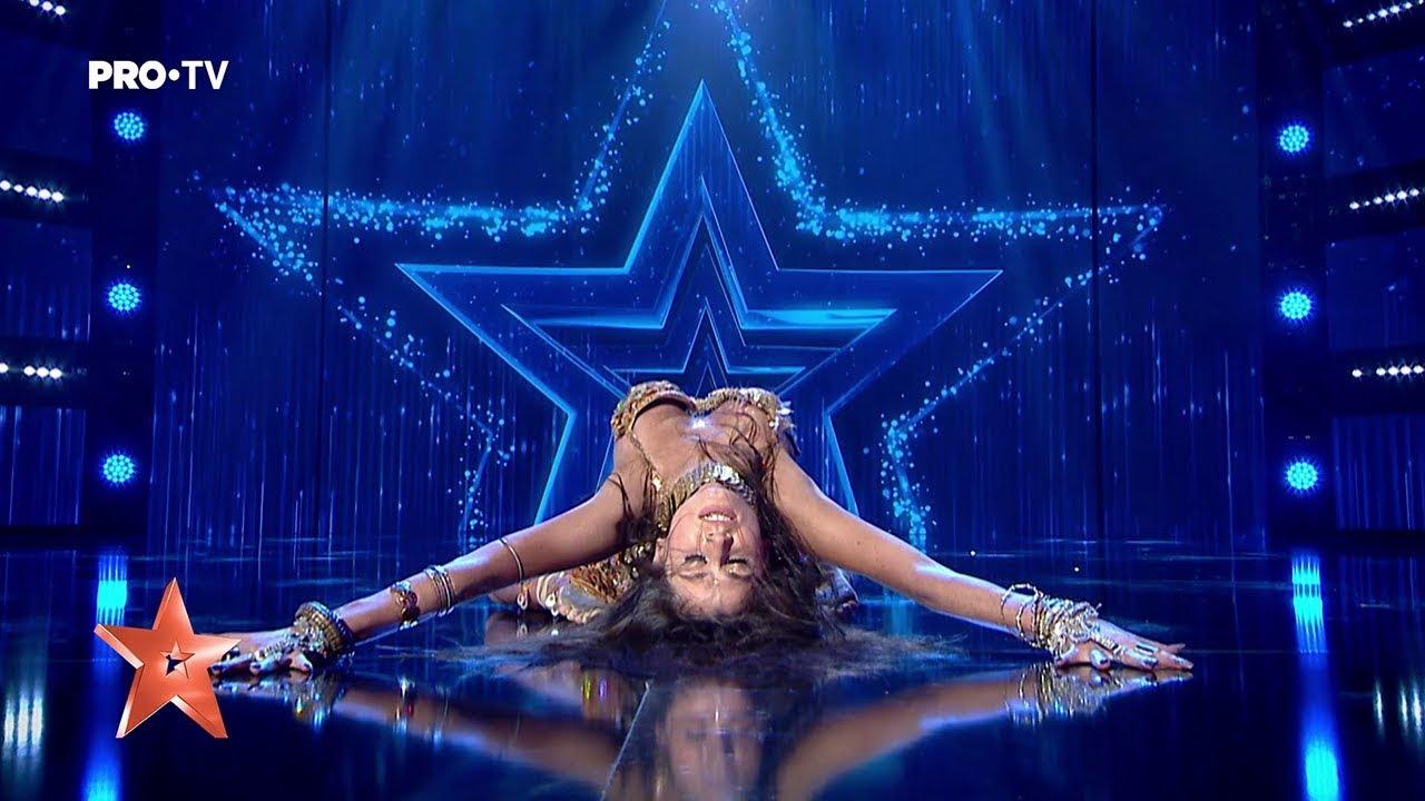 Dansatoare de la Românii au talent.