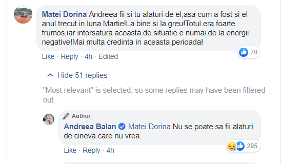 Andreea Bălan a încercat să-și salveze căsnicia