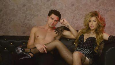 Cine este bărbatul care apare în noul videoclip al Loredanei Groza. Nu este nou în showbiz