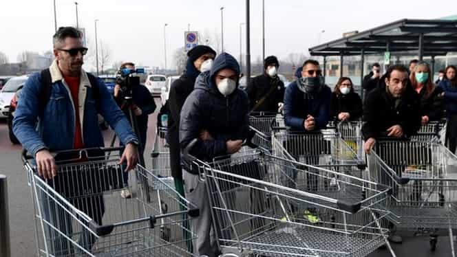 Românii dau iama în supermarket, din cauza coronavirus! Ce produse sunt cele mai căutate mai ceva ca de sărbători