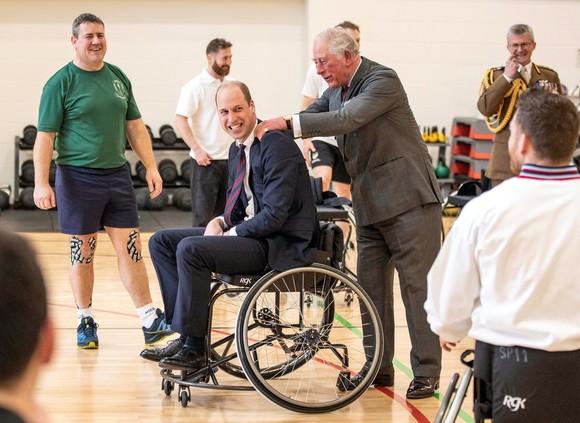 Prințul William, în scaun cu rotile. Apariția care i-a lăsat pe toți fără cuvinte