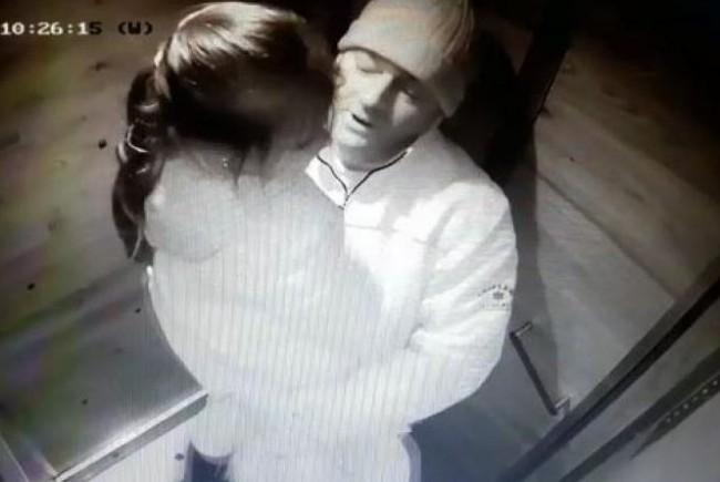 Poza cu Eugen Stan și minora agresată în lift