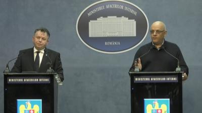 Declarații de presă la sediul MAI. Ce anunță Raed Arafat, Marcel Vela și Bogdan Despescu