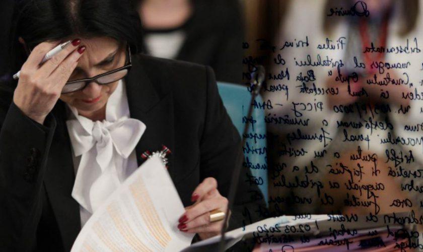 Sorina Pintea a demisionat. Cum arată cererea de demisie a fostului ministru al Sănătății FOTO
