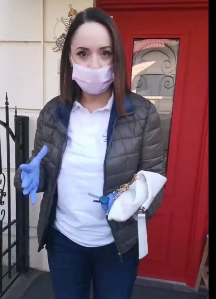 Andreea Marin a strâns 440.000 de euro din donații pentru a-i ajuta pe cei infectați cu coronavirus