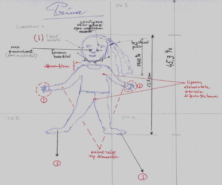 Gheorghe Dincă le-a desenat pe Luiza și Alexandra. Ce au observat psihologii când s-au uitat la imagini