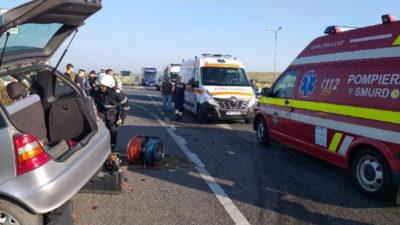 Ultima oră! Accident cu victime pe șoseaua de centură din București. Circulația este blocată