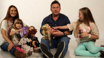 Imagini cu Pavel Bartoș și fiica lui, surprinse cu puțin timp în urmă! Mesajul vedetei PRO TV VIDEO