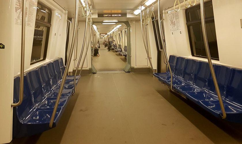 Ce măsuri de dezinfectare a trenurilor folosește Metrorex. Imagini video cu tehnologia 3D folosită