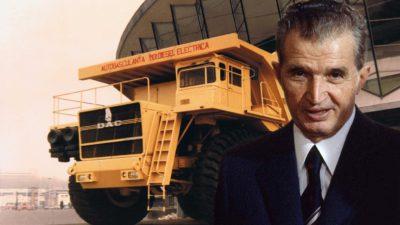 Misterele camionului gigant în care Nicolae Ceaușescu a băgat bani grei. Doar un cauciuc costa 10.000 de dolari