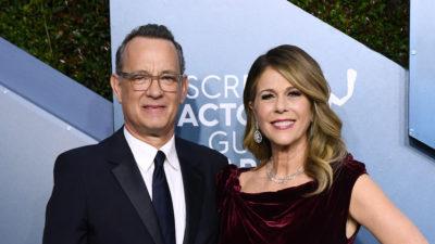 Tom Hanks, infectat cu coronavirus, împreună cu soția sa: vedeta a făcut anunțul pe Twitter