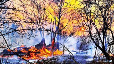 Autoritățile din România reacționează după pericolul de lângă Cernobîl. În ce stadiu este acum incendiul