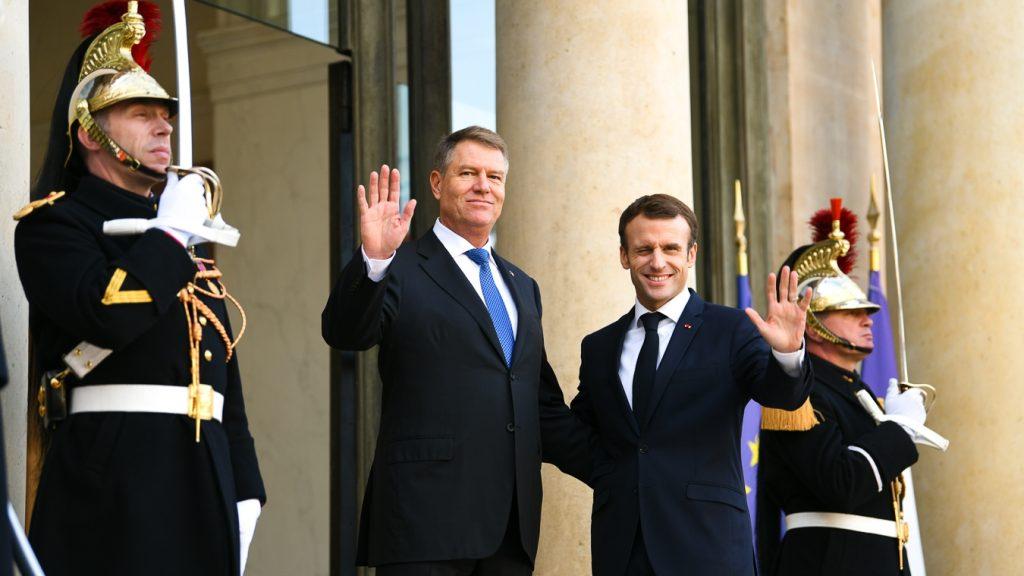 Discuții la nivel înalt. Ce mesaj i-a transmis Klaus Iohannis președintelui  Emmanuel Macron - IMPACT