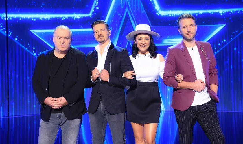 Românii au Talent continuă la PRO TV. Mihai Petre și Florin Călinescu, emoționați de doi concurenți cu un număr inedit