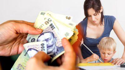 Veste bună pentru români! 75% din salariu pentru mii de părinți. În ce condiții pot primi banii de la stat
