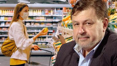 Rafila: Dezinfectăm ambalajele alimentelor? De ce nu e bine să exagerezi cu produsele de curățare