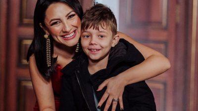 """Ce i-a mărturisit Andra băiețelului ei, David. """"Vorbeau la școală despre cum se fac copiii"""" Cum a reacționat artista"""
