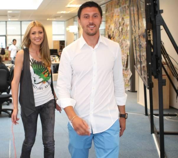 Vandici și Marica s-au despărțit în 2012, după ce fotbalistul i-a călcat strâmb