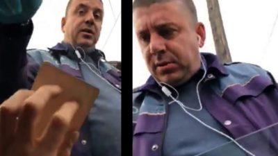 Scandal în plină stradă. Ce s-a întâmplat la Câmpulung Muscel între un șofer și un polițist care i-a cerut actele