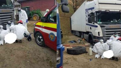 Sfârșit tragic pentru un bărbat din Bistrița-Năsăud, după ce a fost strivit de un TIR. Bistrițeanul se afla în izolare