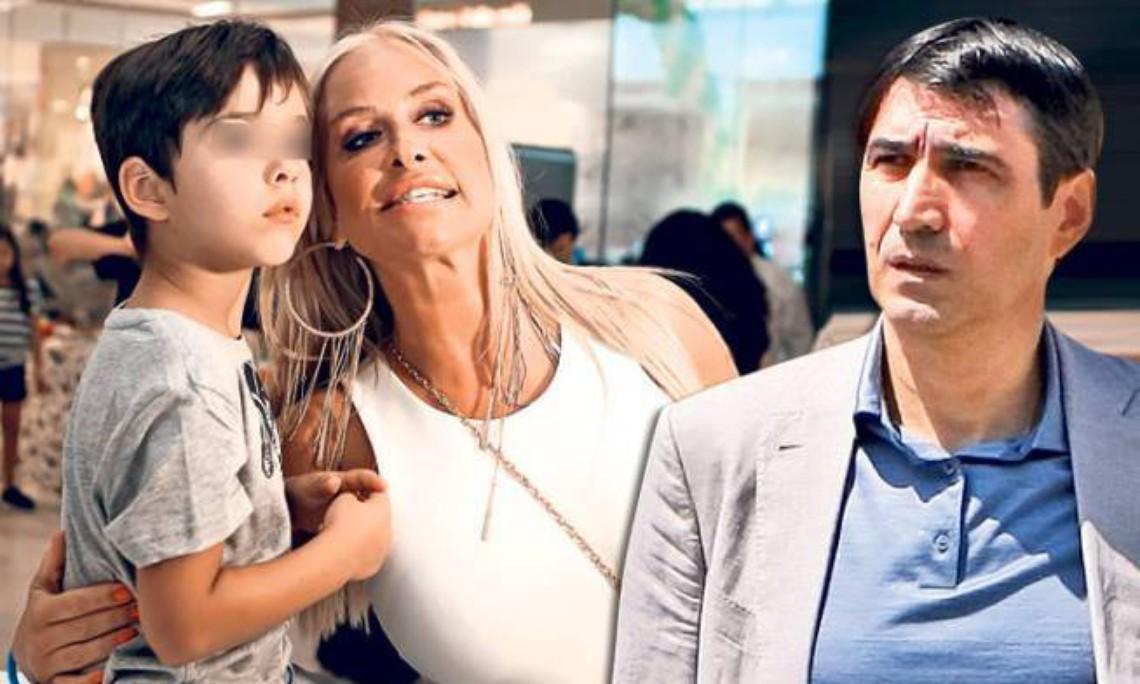 Victor Pițurcă are trei copii în casă, inclusiv pe Edan, fiul lui cu Vica Blochina