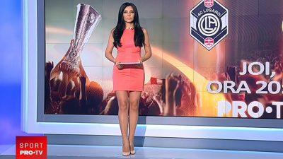 Ce salariu are Corina Caragea la Pro TV. E printre cele mai bine plătite prezentatoare de sport