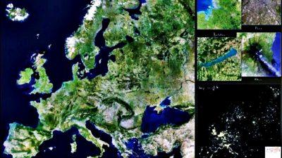 Ce se vede, de fapt, din satelit în toată Europa. Românul care a dezvăluit acum secretele