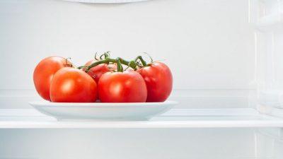 E bine sau nu să ții roșiile în frigider?