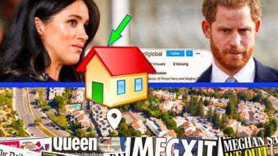 Harry și Meghan, umiliți în presa britanică! Ce s-a aflat despre noua lor locuință