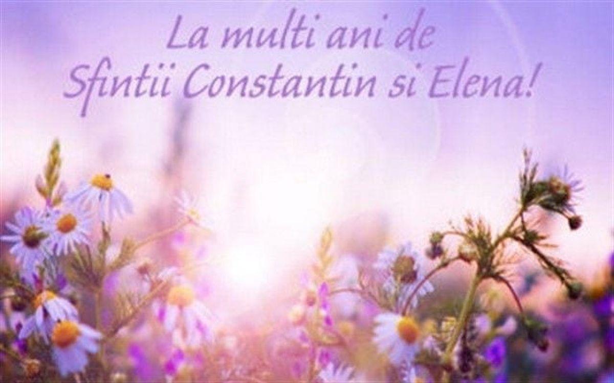 Felicitare virtuală de Constantin și Elena.