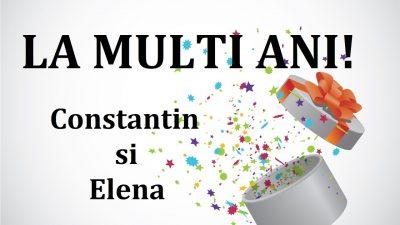Mesaje, SMS-uri și felicitări deosebite de sfinții Constantin și Elena. Urări virtuale. FOTO