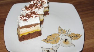 Prăjitura Vânt spaniol. Are un nume ciudat, dar desertul este inimaginabil de delicios