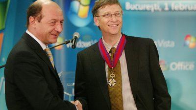 Bill Gates în România. Ce a făcut miliardarul și ce a rămas în urma lui