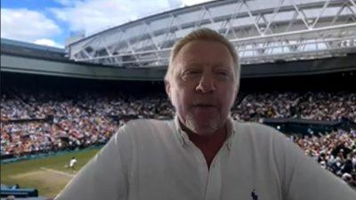 """Cum a distrat-o, în română, Boris Becker pe Simona Halep. """"Eu vorbesc românește"""""""