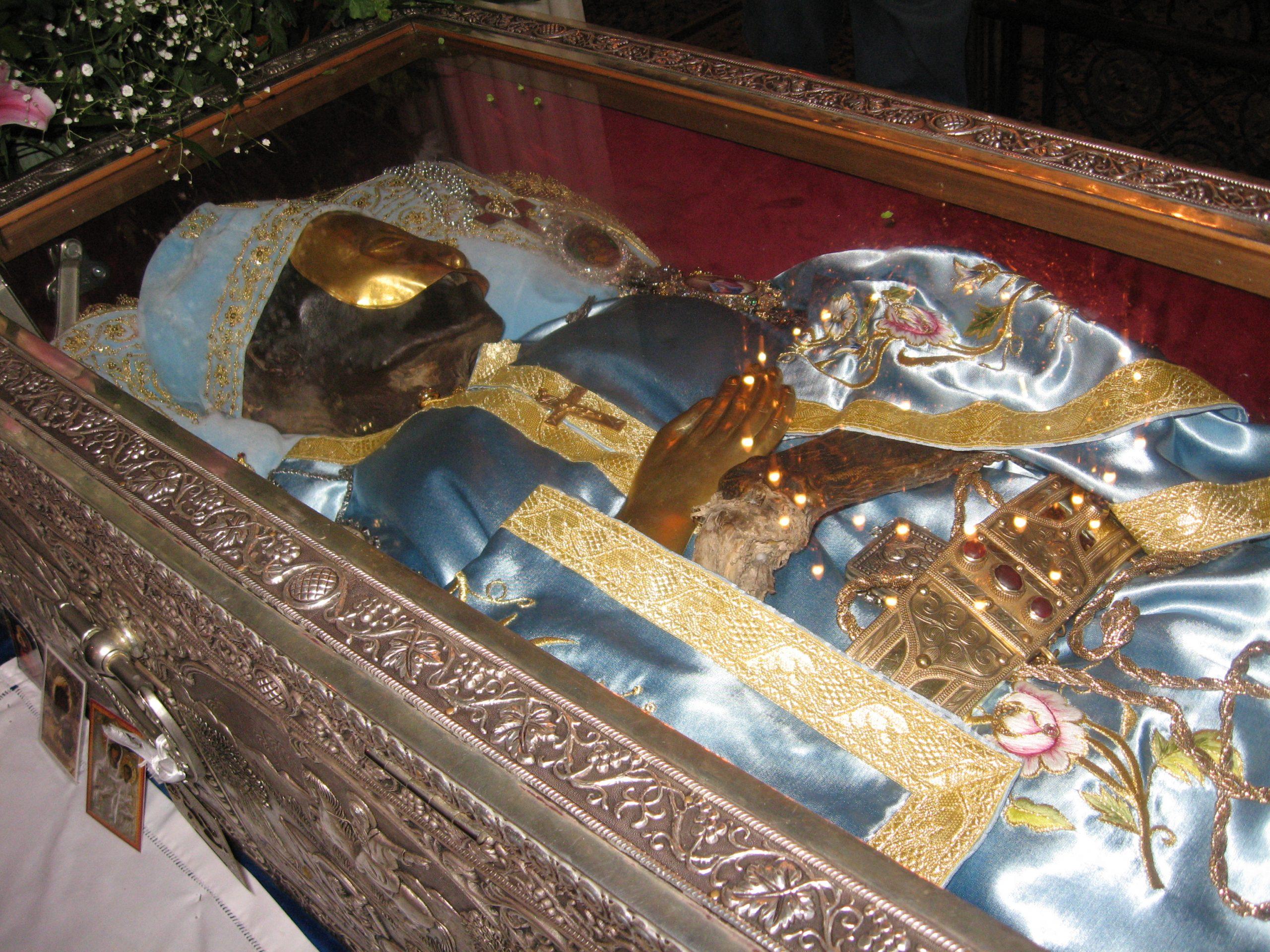 Moaștele Sfântului Ioan Rusul sunt în orașul Procopie