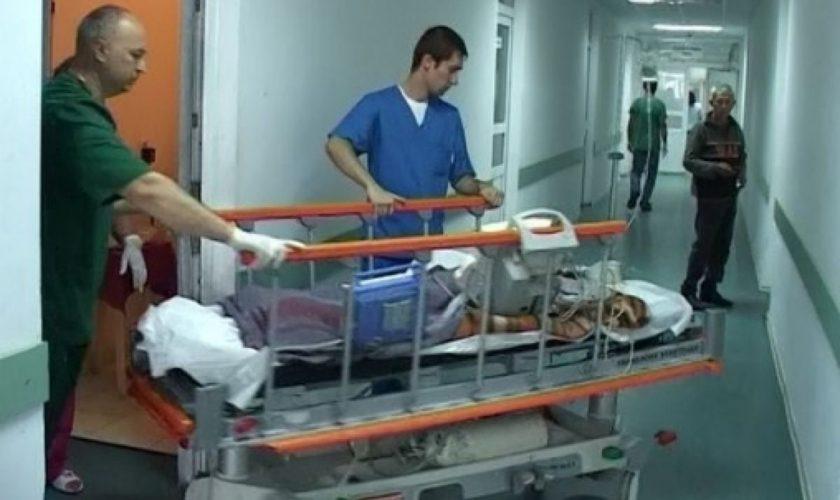 Un bărbat a murit după ce s-a aruncat de la etajul 5 al Spitalului Județean Slatina