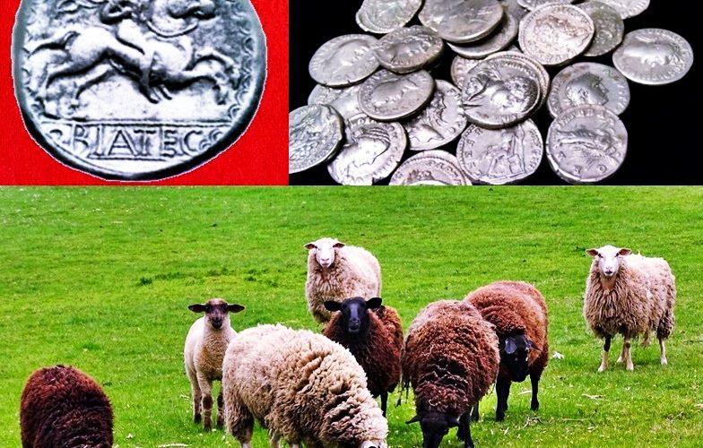 Ca în povești. Un cioban din Alba a găsit o comoară cu monede romane de argint. Cât valorează tezaurul