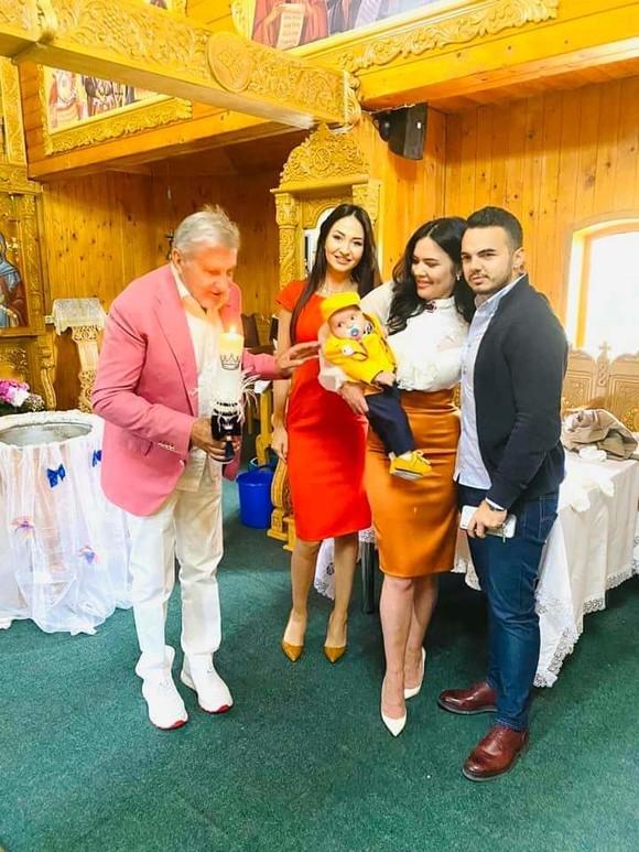 Ilie Năstase și Ioana Simion au botezat un copil, chiar dacă sunt în plic divorț