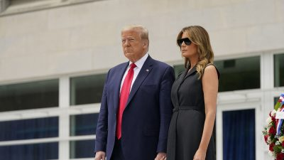 Gestul lui Donald Trump la prima apariție publică după izbucnirea conflictelor violente din SUA. Ce s-a întâmplat cu Melania