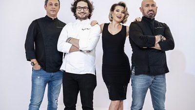 Primele imagini cu chef Cătălin Scărlătescu și Gina Pistol la Chefi la Cuțite. Cum va fi noul sezon